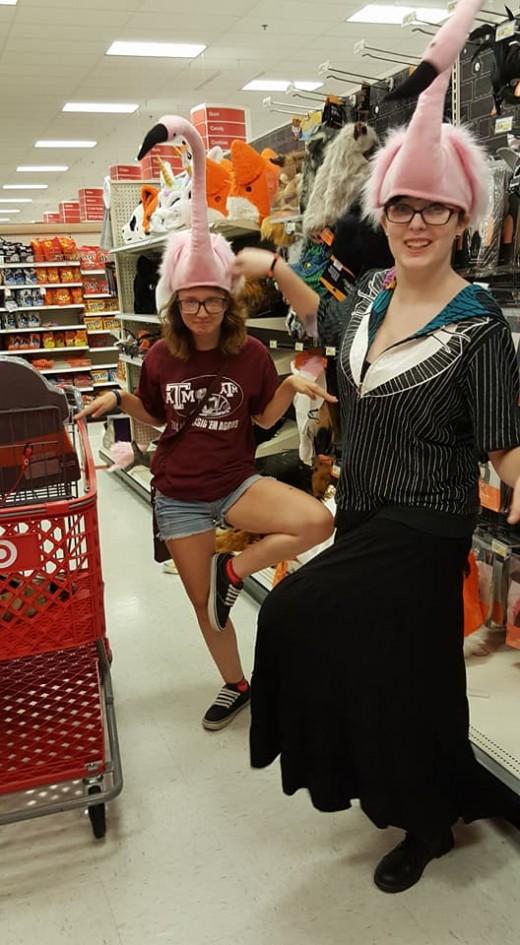 girls at target