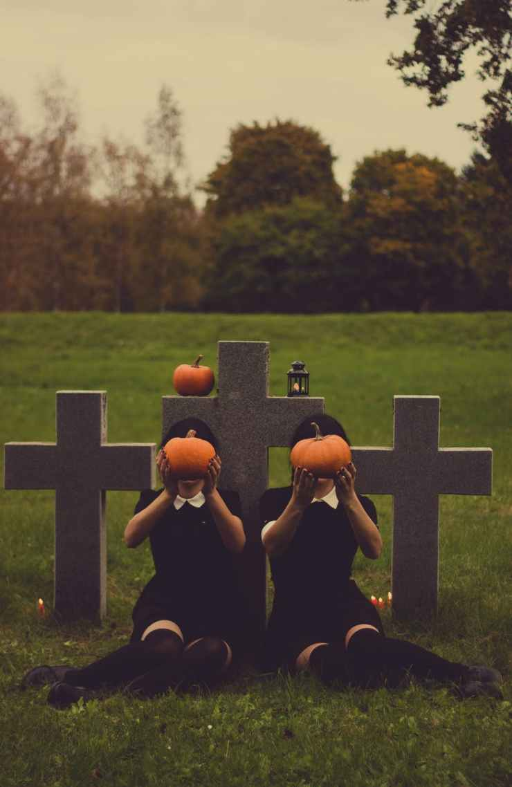 halloween graves gravestones scary