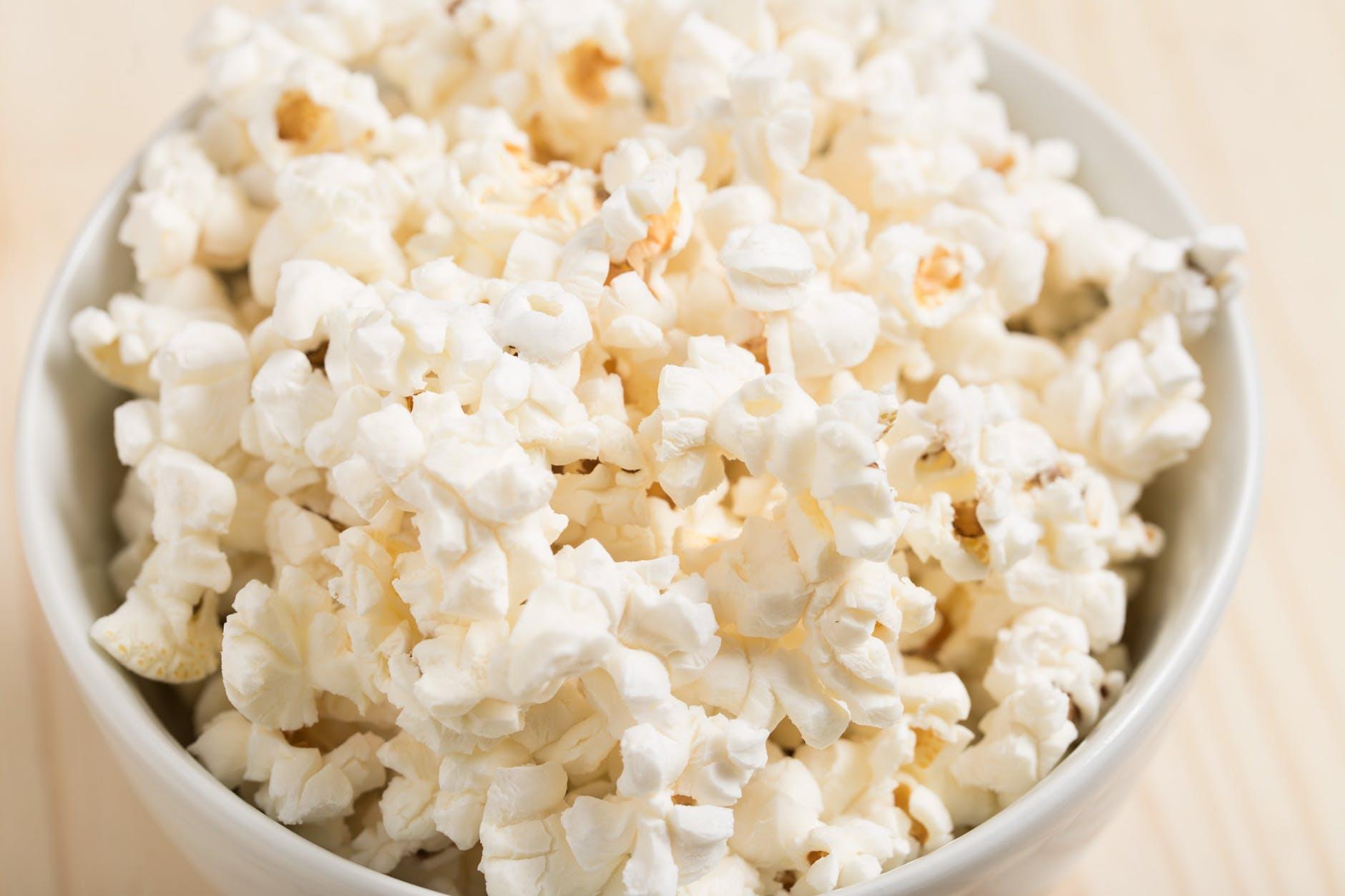 healthy snack movie popcorn